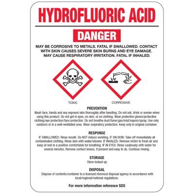 اسید فلوئوریدریک و خطرات کار با آن